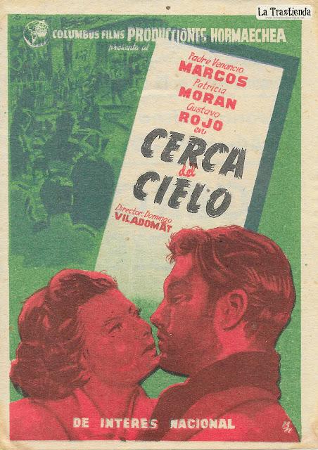 Cerca del Cielo - Programa de Cine - Patricia Morán - Gustavo Rojo