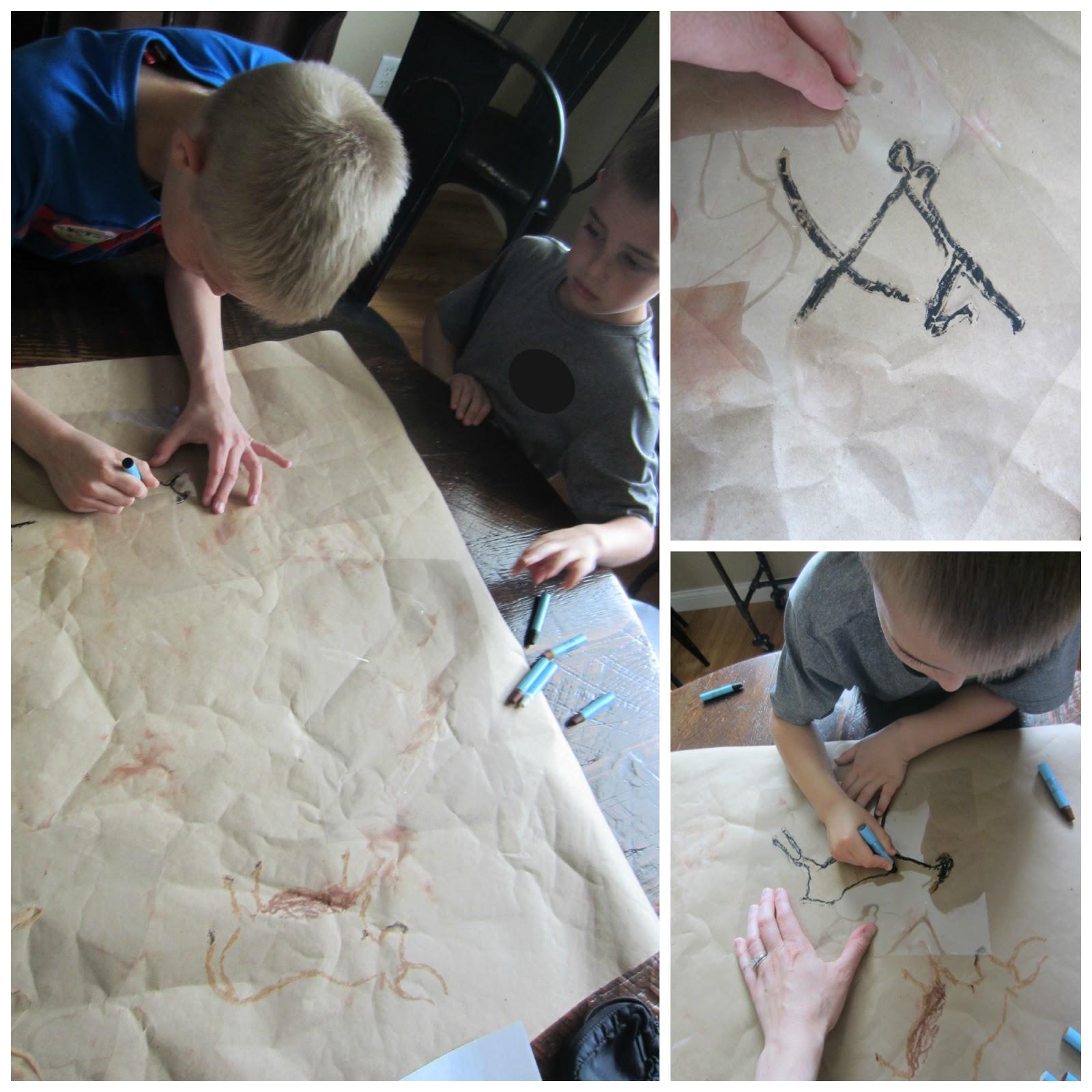Diy Cave Paintings A Lesson On Lascaux