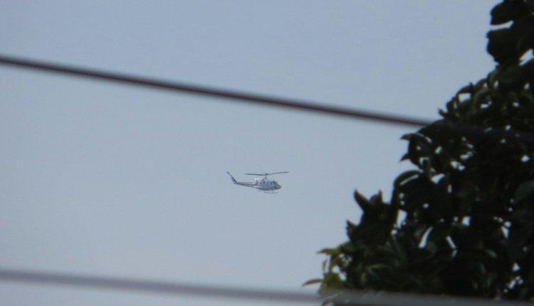 Вертолет над Самуи