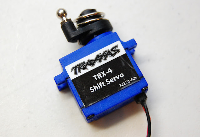 Traxxas TRX-4 transmission shift servo