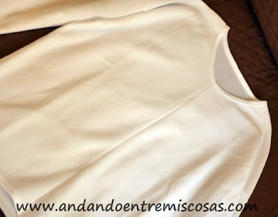 Jersey Blanco Polar De Zaful