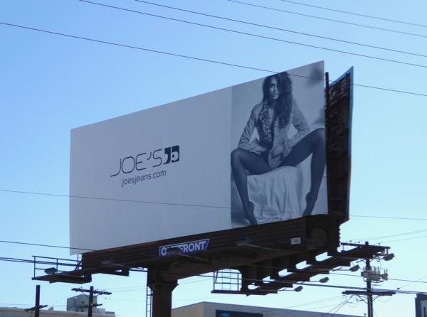 Joes Jeans FW17 billboard