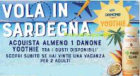 Logo Vola in Sardegna con Yoothie e vinci  una vacanza per 2 persone