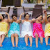 Preety Bridesmaids show off their swags in towels