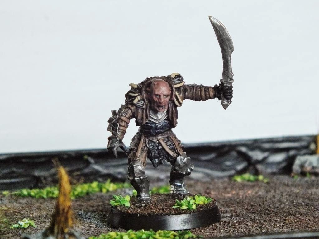 Middle Earth Minis: 27th post - Grishnákh!