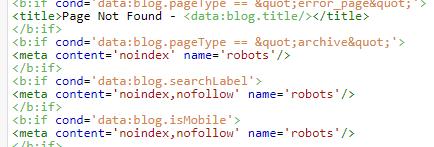Blog Templates Percuma Hati-hati Dengan Meta Tag