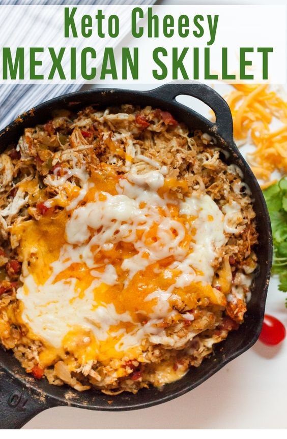 Cheesy Mexican Chicken Skillet