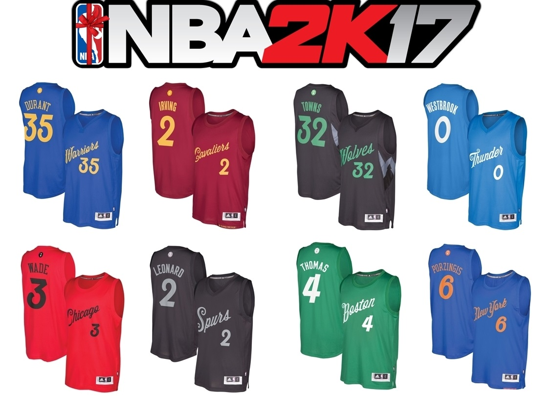 DNA Of Basketball | DNAOBB: NBA 2K17 Official Christmas Roster Update