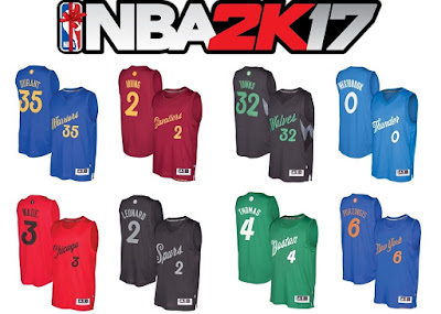 hot sale online e4f93 61d91 NBA 2K17 Official Christmas Roster Update - Shuajota | Your ...