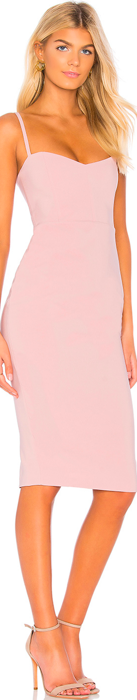 NOOKIE ALLURE MIDI DRESS