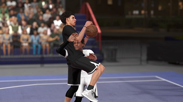 Clipping in NBA 2K19 is less