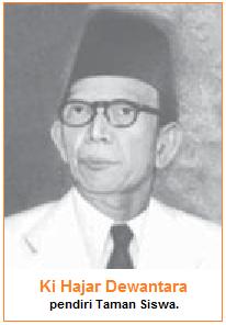 Ki Hajar Dewantara, pendiri taman siswa