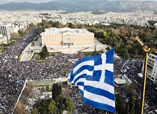 Ελληνίδα φωτογράφος έβγαλε τις πιο εκπληκτικές φωτογραφίες του συλλαλητηρίου