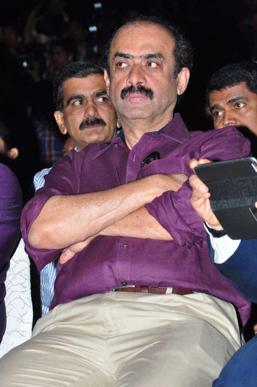We spotted producer Daggubati Suresh Babu at the event