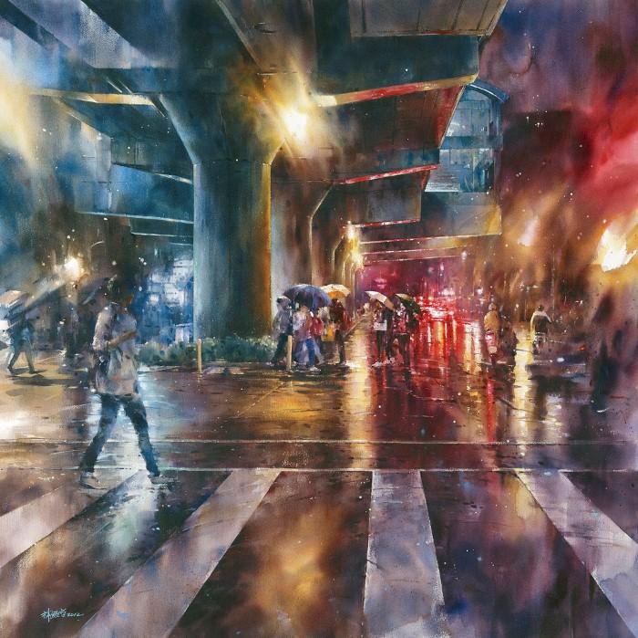 Акварельная живопись. Lin Ching Che 11