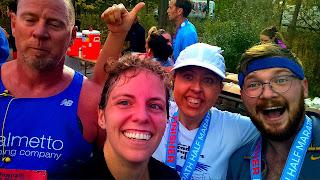 half marathon running buddies racing fitness