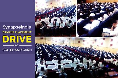 SynapseIndia Recruitment Drive at CGC