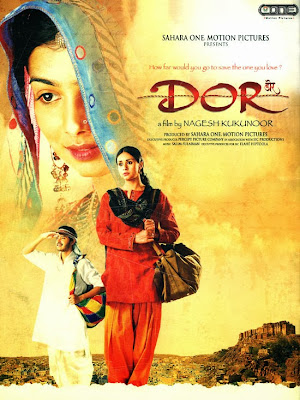 Poster Of Bollywood Movie Dor (2006) 300MB Compressed Small Size Pc Movie Free Download worldfree4u.com