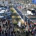 Caos nas rodovias de Barcelona. Manifestantes pela independência se mobilizam.