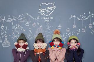 Di Balut Pakaian Musim Dingin, TWICE Tampil Cantik di Teaser 'Heart Shaker'