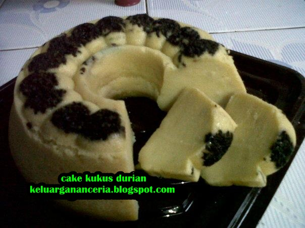 Keluarga Nan Ceria: RESEP CAKE KUKUS DURIAN