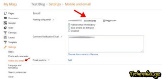 How to Publish Blogger posts via Email