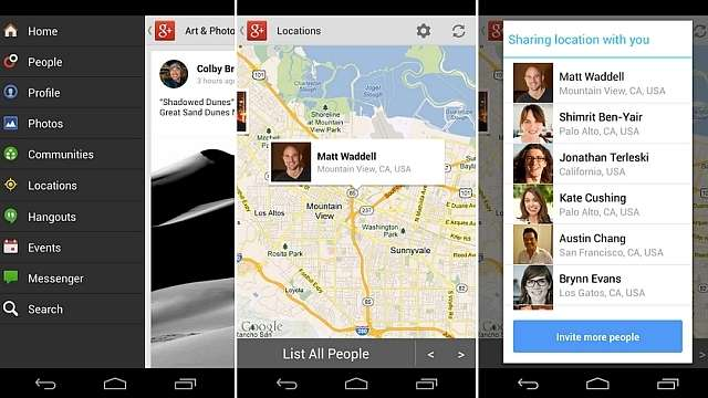 Google+ gets even more plusses for its Android update, update gives improved photos and location sharing