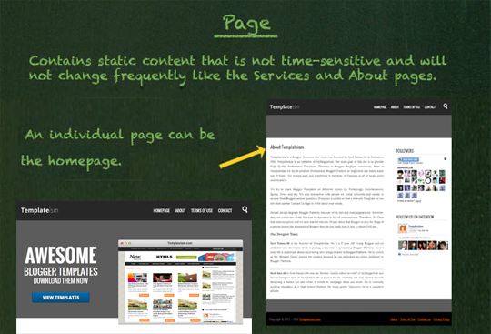 What is the Difference Between Blog Posts vs  Pages in Blogger ~ My