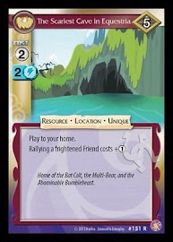 My Little Pony The Scariest Cave in Equestria Absolute Discord CCG Card