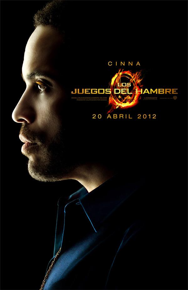 Poster de Los Juegos del hambre CINNA