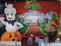 Dekorasi Gabus Halloween