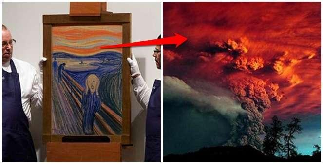 Kisah The Scream, Lukisan 'Menjerit' Asal Eropa yang Gambarkan Kiamat Kecil di Indonesia