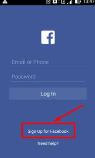 facebook account create new