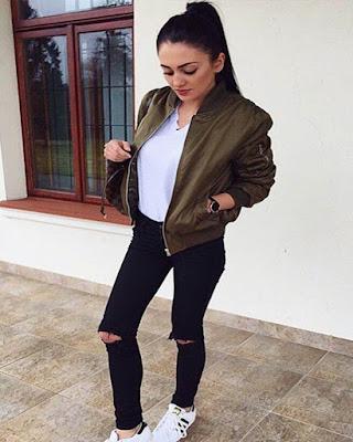 outfit tumblr casual de moda