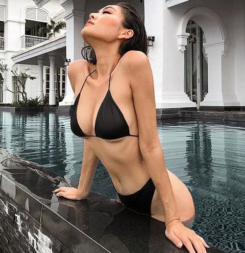 Ngắm thân hình nuột nà của hot girl hội Rich Kid Việt Nam