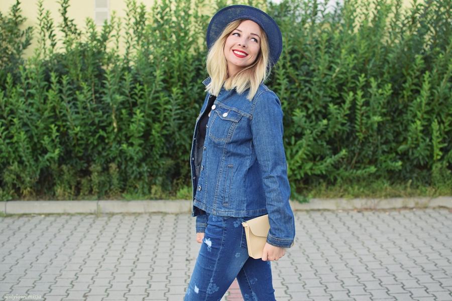 bonprix.pl, jeans, jeansy, moda, stylizacje, totallook,