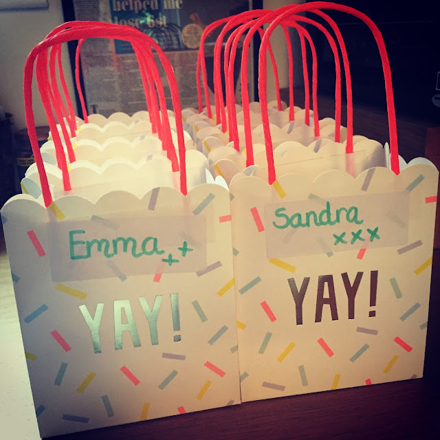 sprinkle bags from HomeSense - teacher gifts