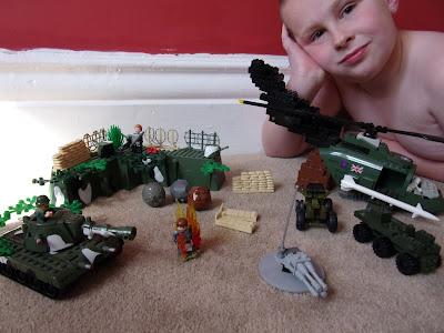 school project bunker scene land mine explosion