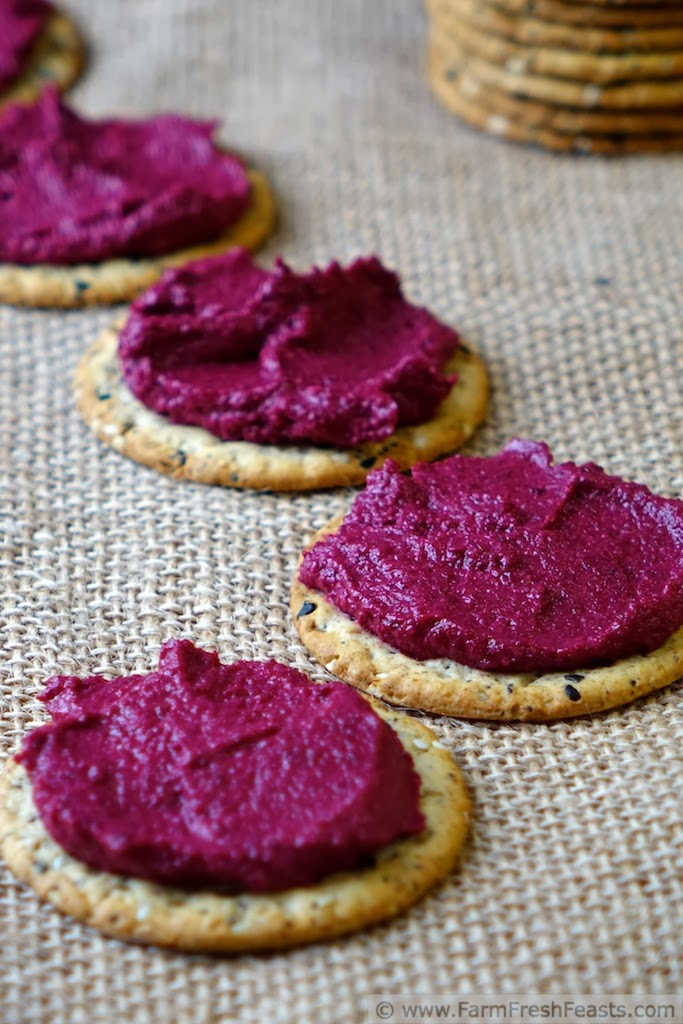 Orange-Spiked Beet and Walnut Spread | Farm Fresh Feasts