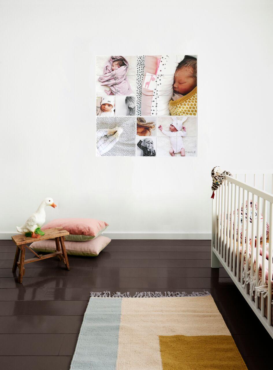 Kolaż na ścianę z własnych zdjęć