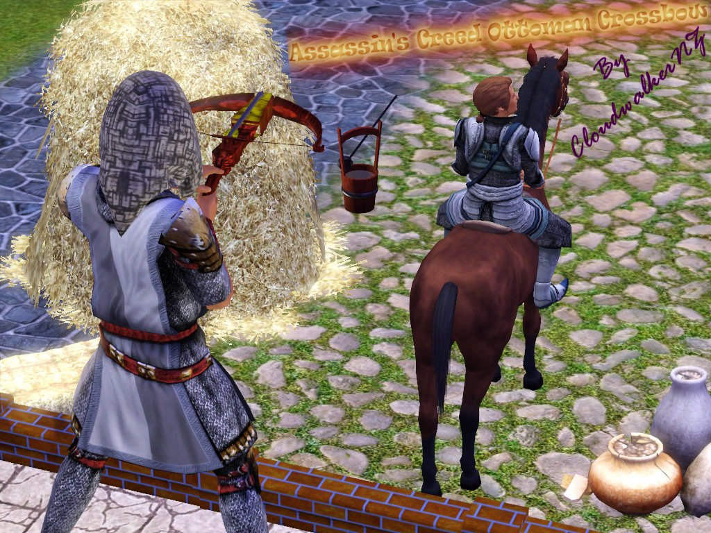 My Sims 3 Blog: Assassin's Creed Ottoman Crossbow For Sim