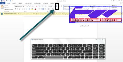 cara mengkaktifkan bahasa arab di keyboard