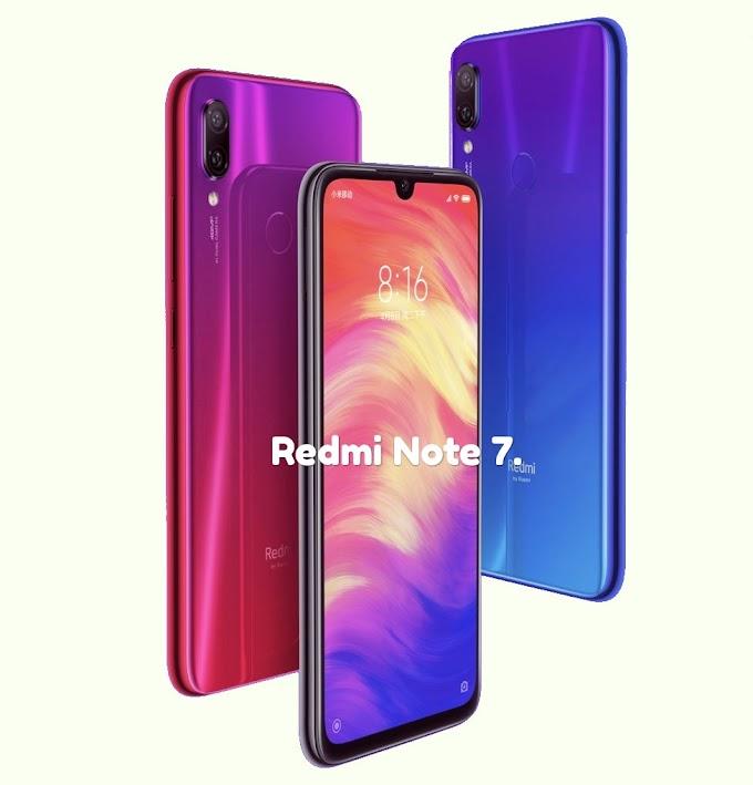 Radmi launched new smartphone Redmi Note 7.2019