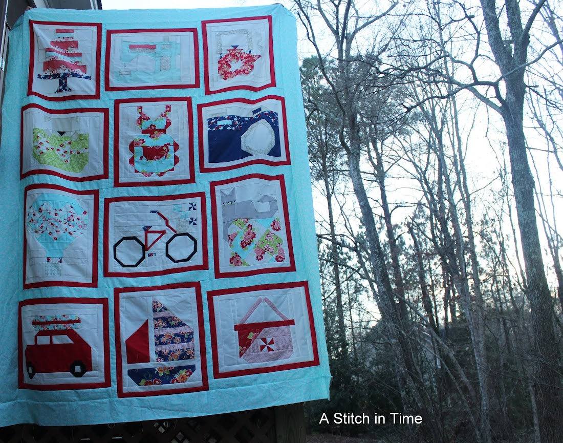 Fat Quarter Shop Snapshots quilt