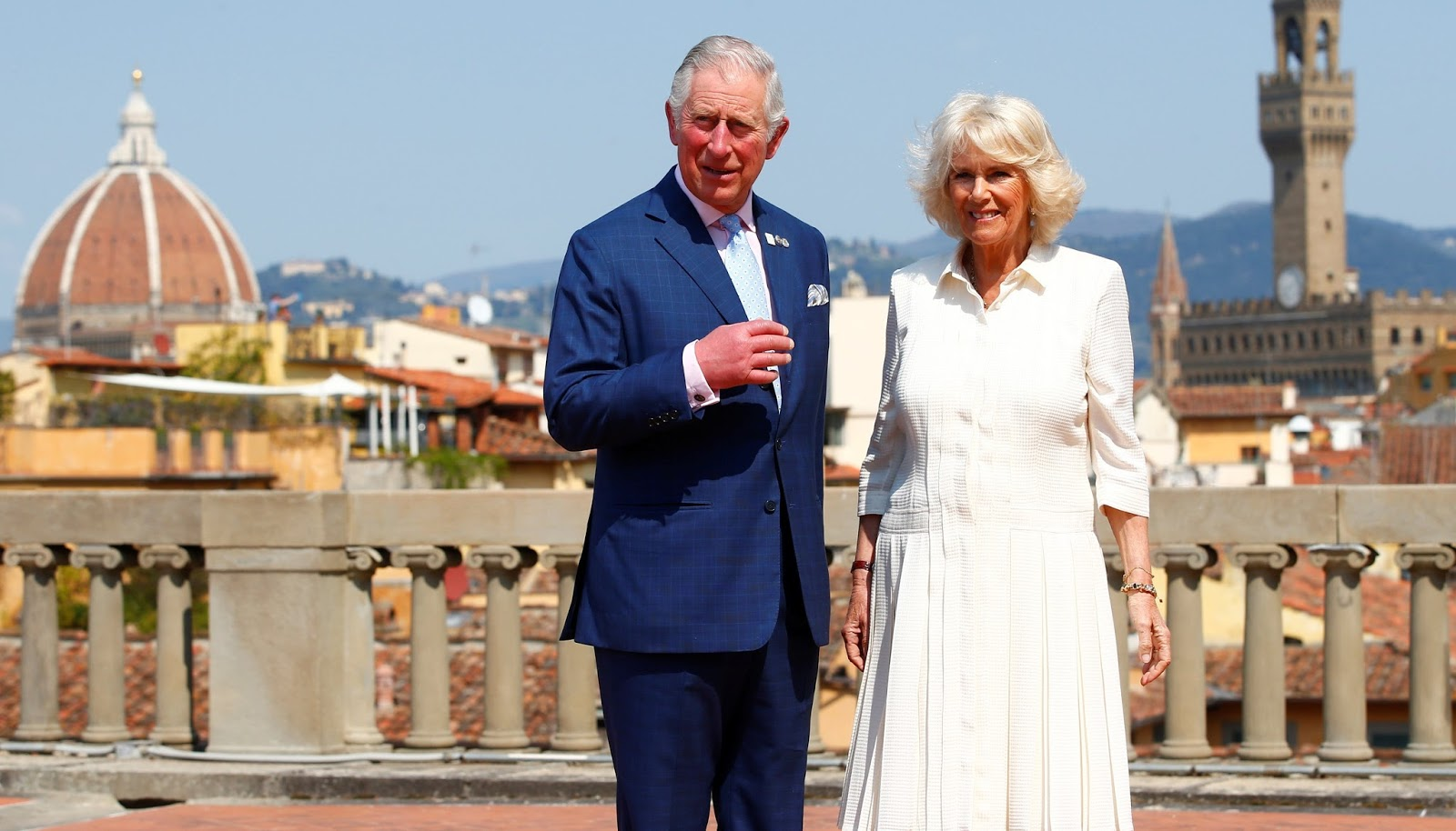 Britain's Prince Charles and his wife Camilla arrived in Singapore Monday to kick off an Asian tour.