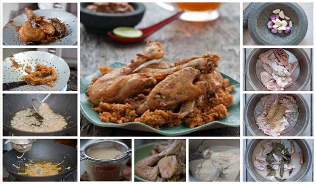 Terungkap! Ini dia Resep Rahasia Membuat Ayam Goreng Kremes Ala Nyonya Suharti! Coba Yuk!
