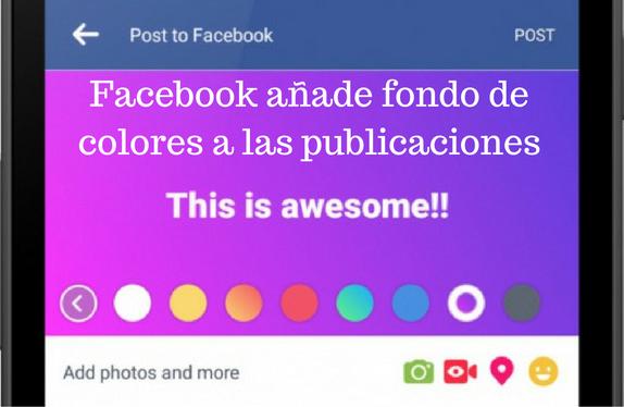 Redes Sociales, Facebook, colores, actualizaciones, Publicaciones, Social Media,