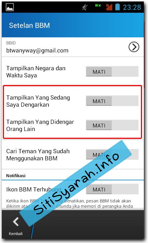 BBM di Android Loading dan Lemot