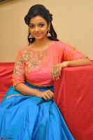 Nithya Shetty in Orange Choli at Kalamandir Foundation 7th anniversary Celebrations ~  Actress Galleries 106.JPG