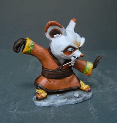 action figures personalizzate film d'animazione cartone animato statuette fantasy orme magiche
